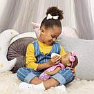 Интерактивная кукла Лувабелла Брюнетка Luvabella Newborn Brown Hair оригинал  SpinMaster (повреждена коробка), фото 2