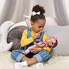 Интерактивная кукла Лувабелла Брюнетка Luvabella Newborn Brown Hair оригинал  SpinMaster (повреждена коробка), фото 3