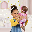 Интерактивная кукла Лувабелла Брюнетка Luvabella Newborn Brown Hair оригинал  SpinMaster (повреждена коробка), фото 5