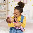 Интерактивная кукла Лувабелла Брюнетка Luvabella Newborn Brown Hair оригинал  SpinMaster (повреждена коробка), фото 6