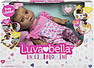 Интерактивная кукла Лувабелла Брюнетка Luvabella Newborn Brown Hair оригинал  SpinMaster (повреждена коробка), фото 8