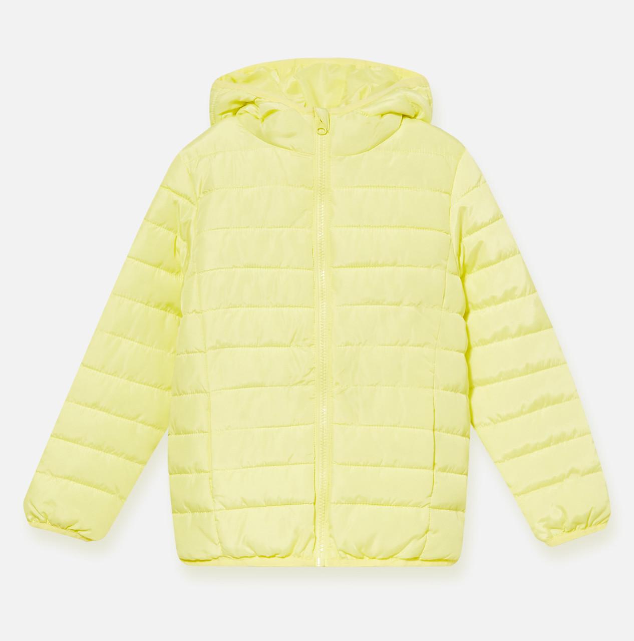 Желтая куртка для девочки Sinsay Польша Размер 122
