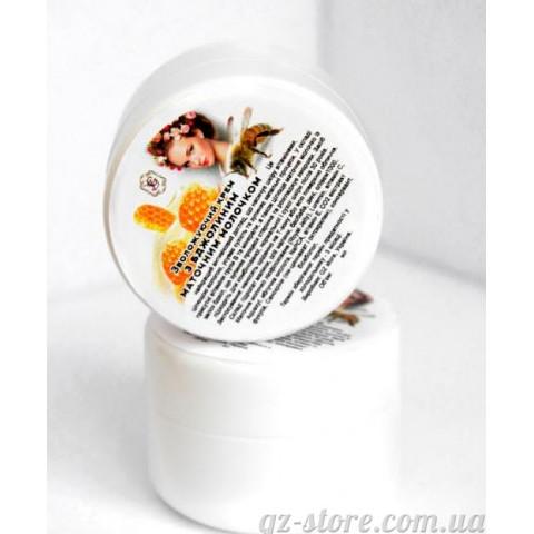 Крем дневной увлажняющий с Пчелиным Маточным Молочком 30 мл - для всех типов кожи лица