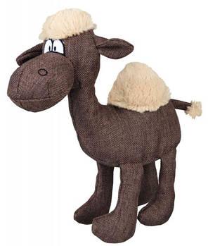 Игрушка для собак trixie верблюд ткань+плюш. 31 см