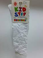 Гольфы детские, ажурные, размер 16( р. обуви 23-25), цвет белый