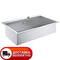 Кухонная стальная мойка Grohe EX Sink 31584SD0 серия K800 85*56