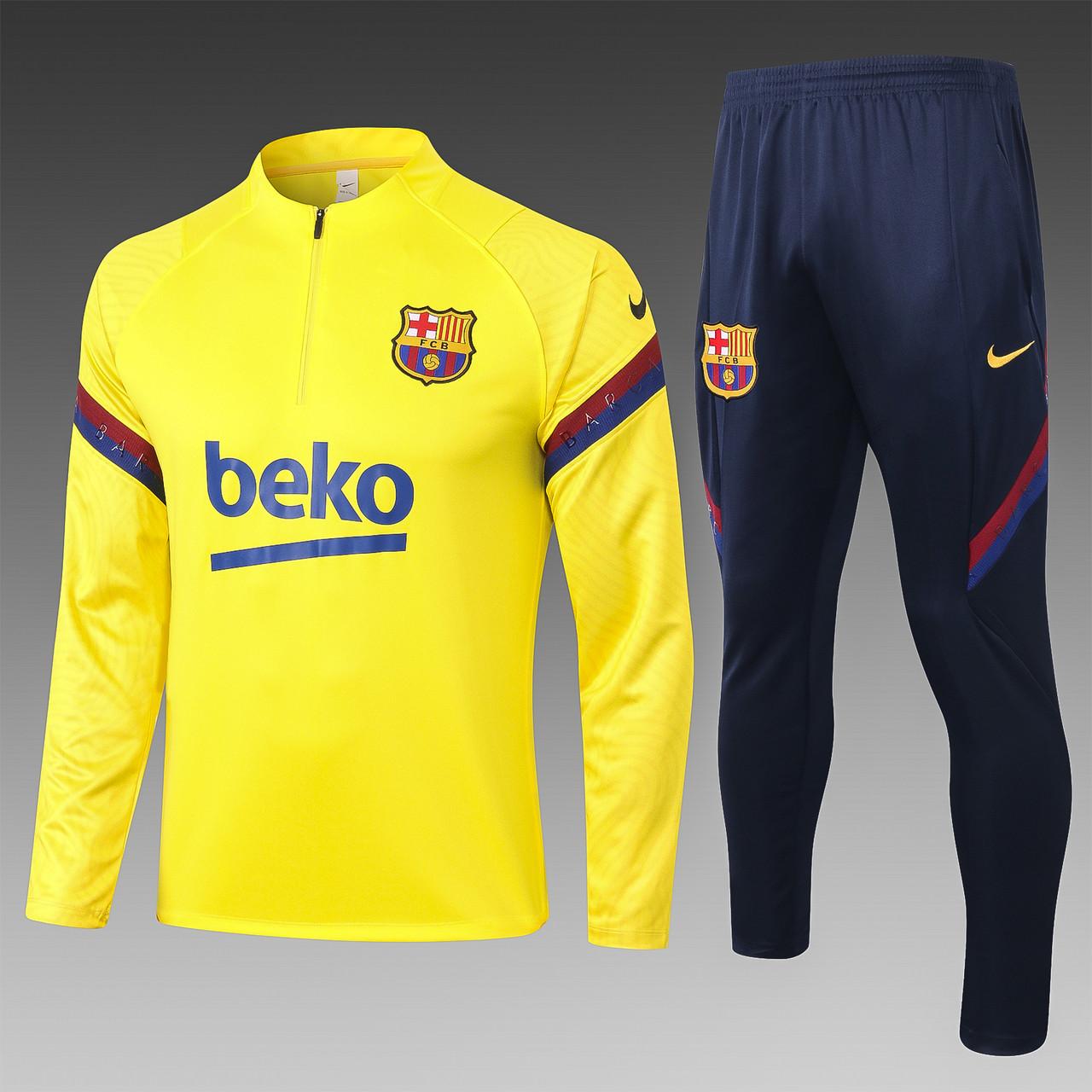 Спортивный тренировочный костюм Барселона Barcelona 2019-20