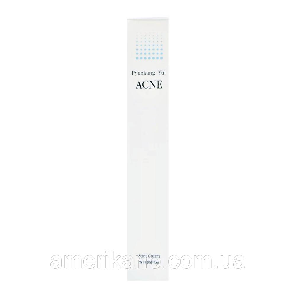Точечный крем для устранения акне PYUNKANG YUL Acne Spot Cream, 15 мл