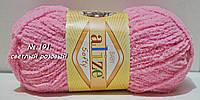 SOFTY от ALIZE (плюшевая пряжа ) № 191 - св. розовый