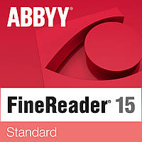 Программа для распознавания текста ABBYY FineReader 15 Standard, EDU, Perpetual