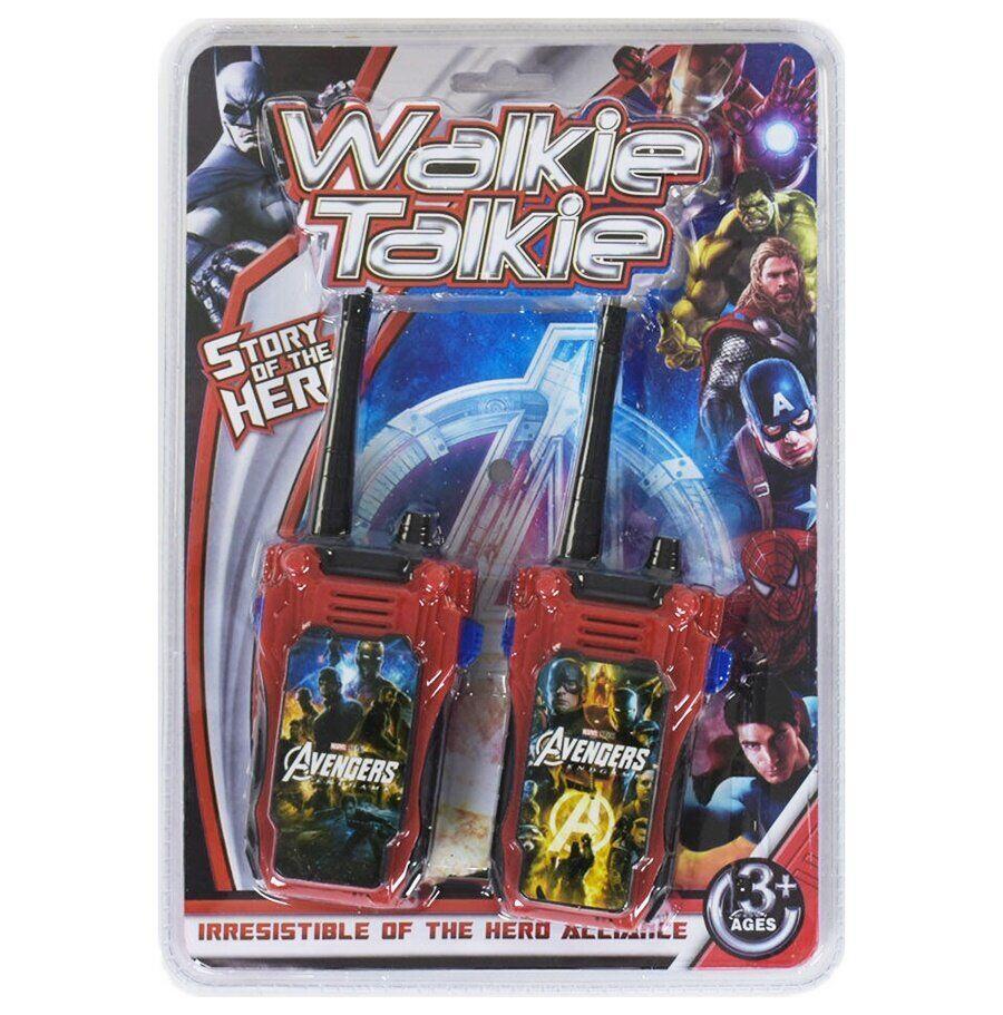 Набор раций  Walkie talkie Avengers