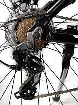 """Гірський велосипед 26 дюймів Crosser Scorpio рама 17"""" Алюміній BLACK-RED, фото 3"""