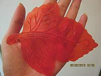 Лист красный. Мини-коврики оптом