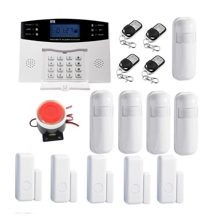 Полный комплект беспроводной GSM сигнализации Kerui PG500 / B2G / GSM30А (комплект 5 home)