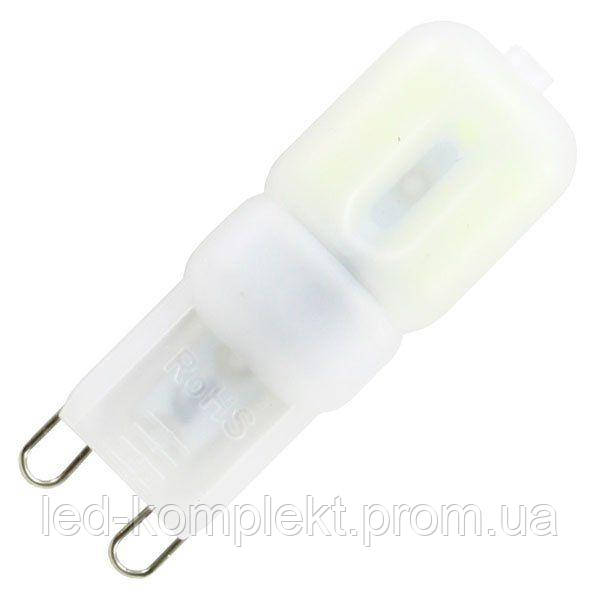Світлодіодна лампа G9 3W 2835 PC 3000K AC220