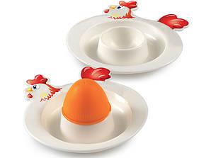 Подставки для яйца 2 шт + солонка SNIPS (SN000301)