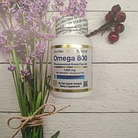California Gold Nutrition omega 3 fish oil 30 soft 1000 mg ( Omega 800) , омега 3 рыбий жир, фото 1