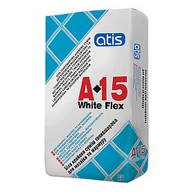 Клей для плитки Atis A-15 Wite Flex 10кг