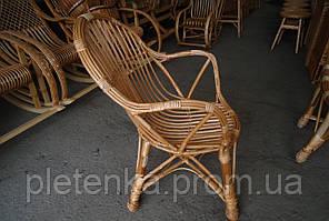 Кресло удобное плетенное из лозы