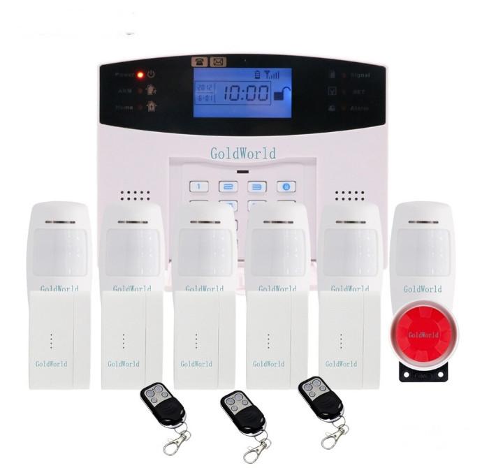 Повний комплект бездротової GSM сигналізації Kerui PG500 / B2G / GSM30А (комплект 6 home)