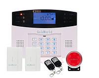 Полный комплект беспроводной GSM сигнализации Kerui PG500 / B2G / GSM30А (комплект 2 econom home)