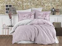 Двуспальный комплект постельного белья Exclusive Sateen Natalina 200*220/4*50*70 см (48543)