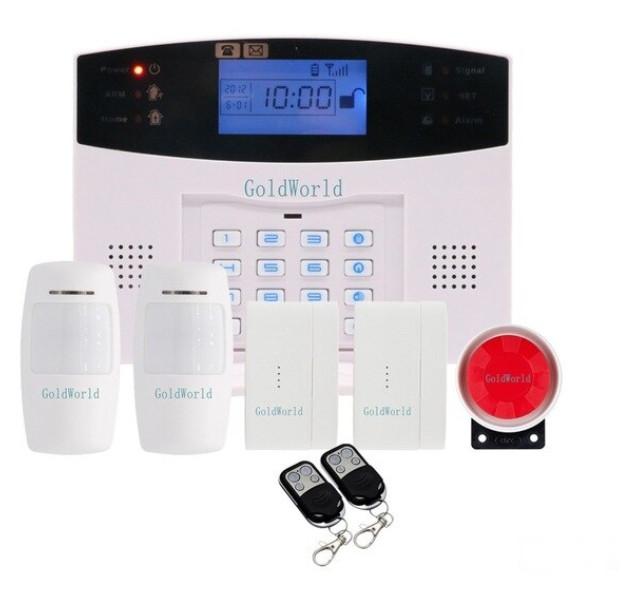 Полный комплект беспроводной GSM сигнализации Kerui PG500 / B2G / GSM30А (комплект 2 home)