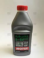 Жидкость гидроусилителя руля,гидравлических амортизаторов и других гидравлических систем Multi HF (1L).Motul.