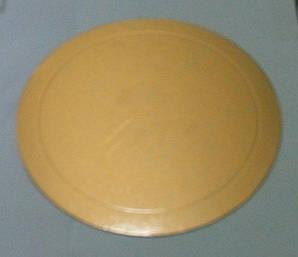 Подложка для торта круглая золотого и серебряного цвета Ø 360 мм (уп 20 шт)