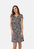 Трикотажное платье для беременных и кормящих (dogs), фото 1