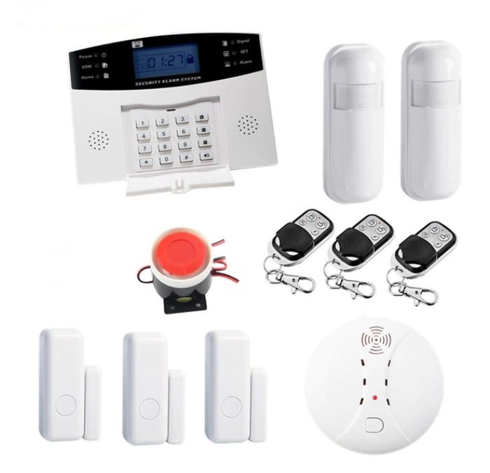 Повний комплект бездротової GSM сигналізації Kerui PG500 / B2G / GSM30А (комплект 2 standart home)