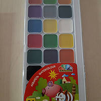 Акварельные краски Акварель Гамма Захоплення 24кол 312082