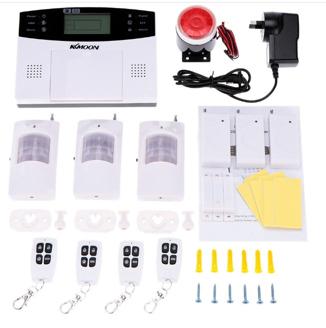 Полный комплект беспроводной GSM сигнализации Kerui PG500 / B2G / GSM30А (комплект 3 econom home)