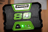 Аккумулятор Greenworks PRO G80B4 80V 4.0 Ач (литий-ионная батарея)  (2901307) ( GBA80400 ), фото 2