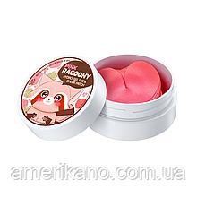 Гидрогелевые патчи для глаз и скул SECRET KEY Pink Racoony Hydrogel Eye & Cheek Patch, 60 шт
