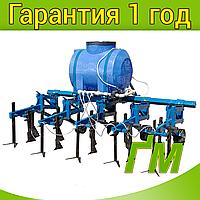 Культиватор универсальный междурядный (прицепной 3 точки) с системой внесения жидких удобрений (КУ15)