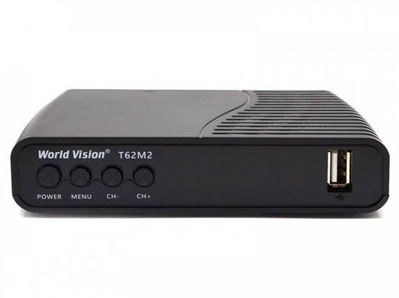 Цифровой эфирный ТВ приёмник World Vision T-62M2, фото 2