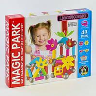 Магнитный конструктор для девочки 41 детали Magic Park