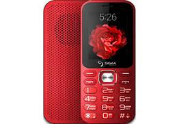 Мобільний телефон Sigma mobile X-Style 32 Boombox Red MediaTek MT6261 3200 маг
