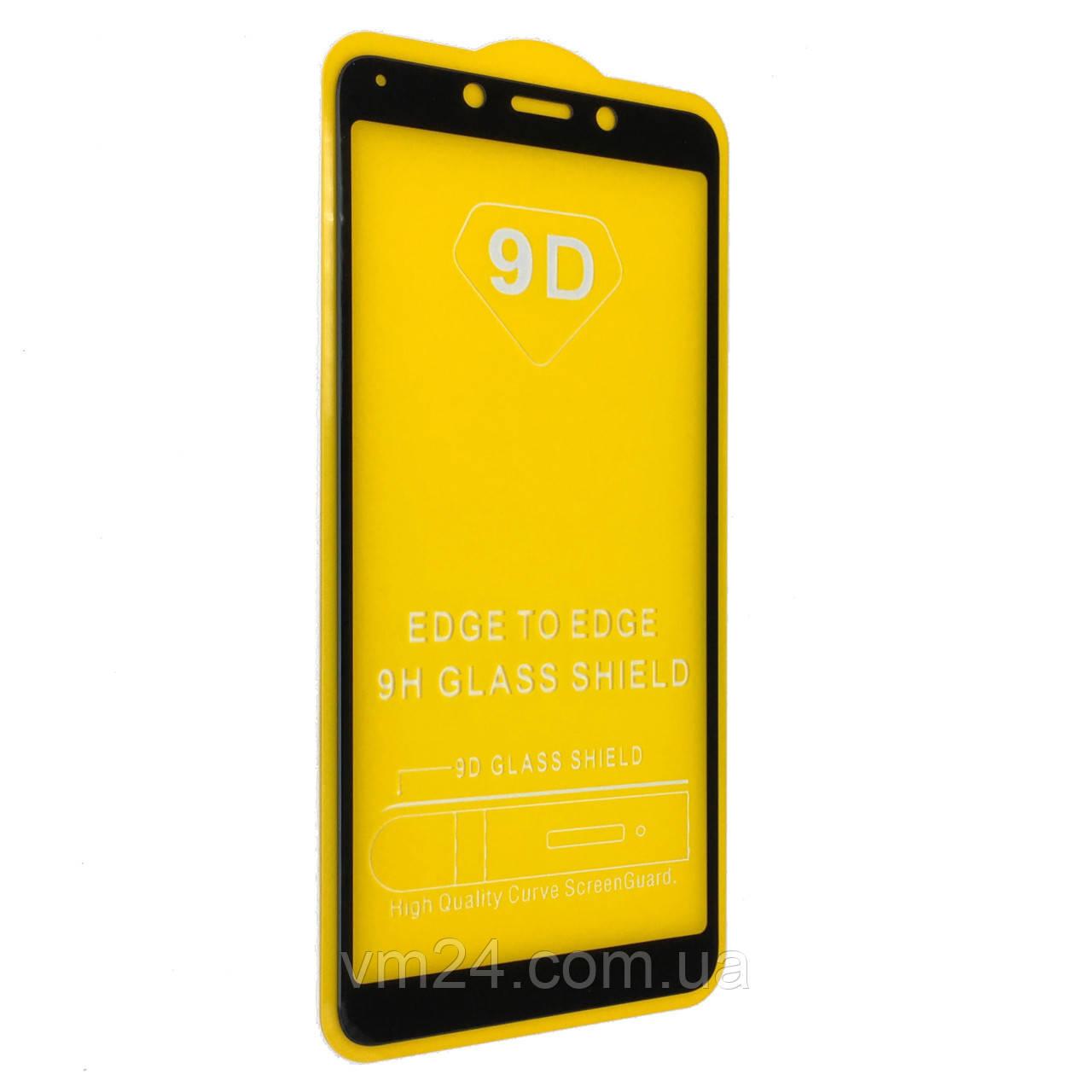 Защитное стекло 9D для Xiaomi Redmi 6 / 6A (Black)