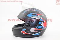 Легкий удобный шлем для скутера 53/54 см
