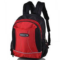 Школьный рюкзак Onepolar 1296 красный (1-3 класса)