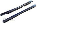 Накладки на пороги ВАЗ 2101 - 2107 Дутые жабры (под покраску)