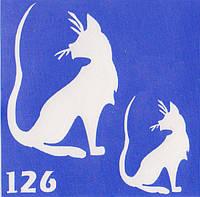 Трафарет для биотату № 126