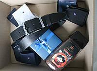 Мужской подарочный набор Tommy Hilfiger: ремень+носки+кофе