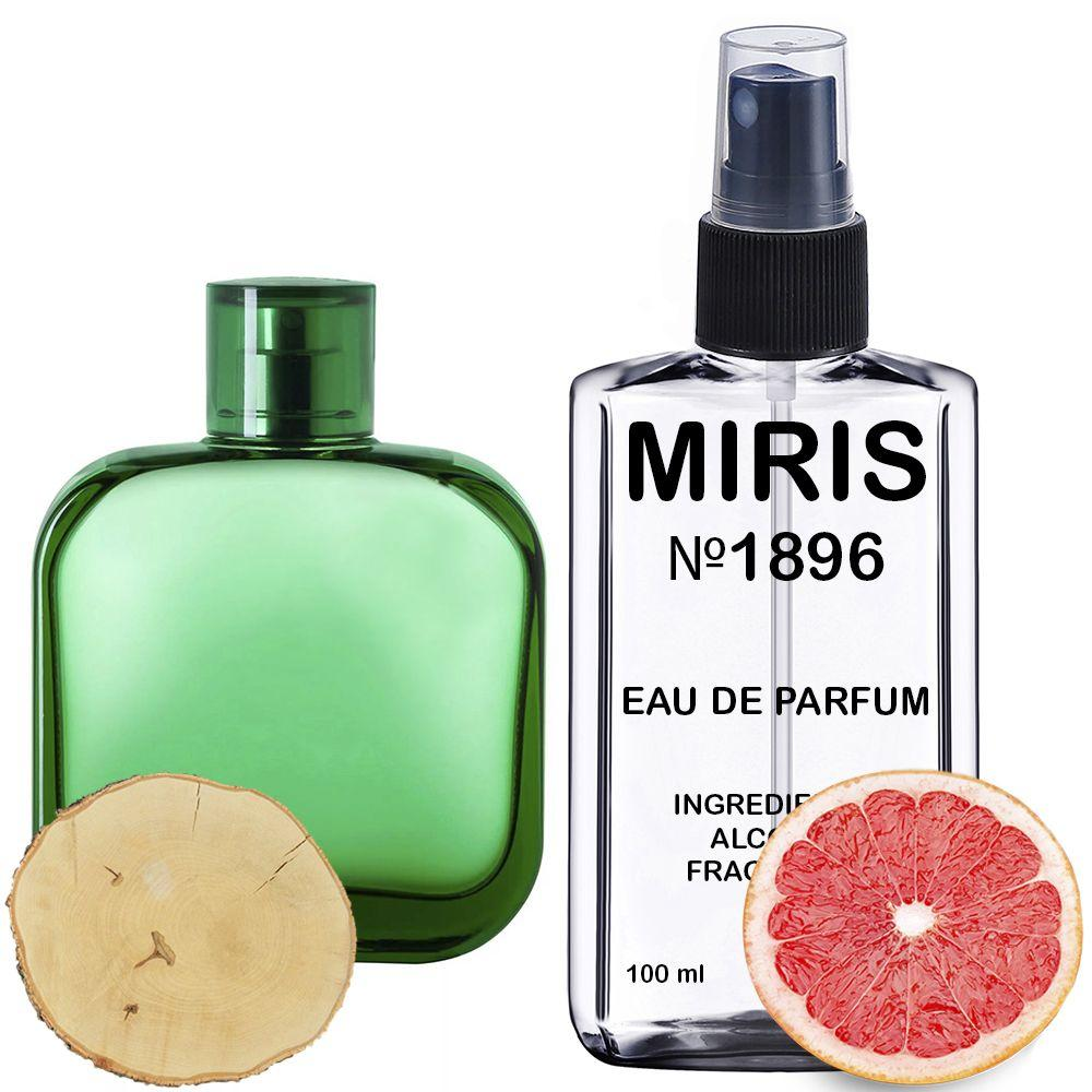 Духи MIRIS №1896 (аромат похож на Eau De Lacoste L.12.12 Vert) Мужские 100 ml