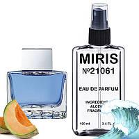 Духи MIRIS №21061 (аромат похож на Antonio Banderas Blue Seduction Men) Мужские 100 ml