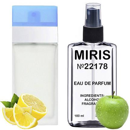 Духи MIRIS №22178 (аромат похож на Dolce&Gabbana Light Blue) Женские 100 ml, фото 2