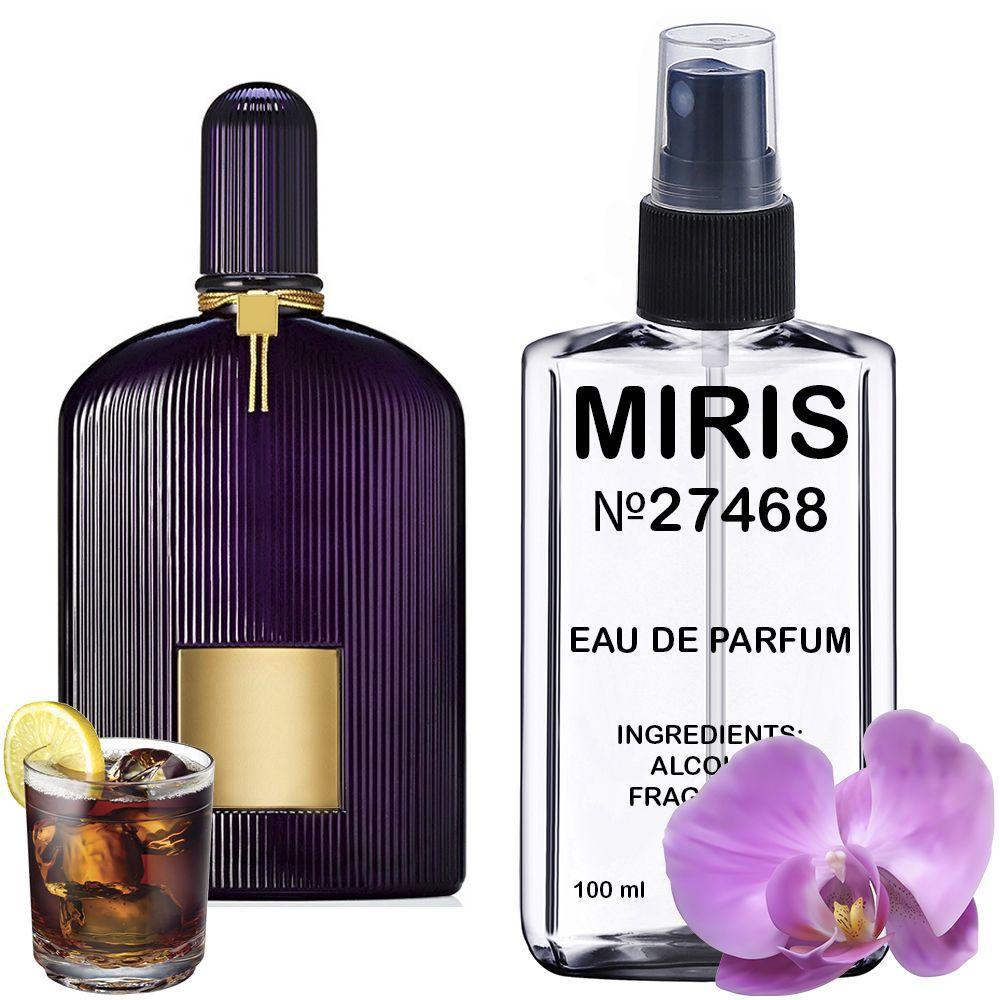 Духи MIRIS №27468 (аромат схожий на Tom Ford Velvet Orchid) Жіночі 100 ml
