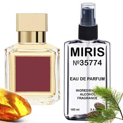 Духи MIRIS №35774 (аромат схожий на Maison Francis Kurkdjian Baccarat Rouge 540) Унісекс 100 ml, фото 2